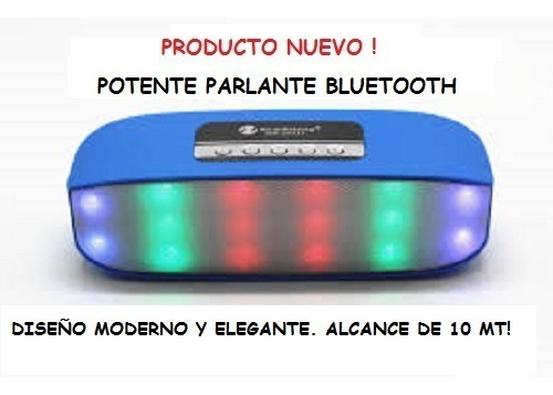 Parlante Bluetooth Radio Para Celulares, Tablet, Pc.