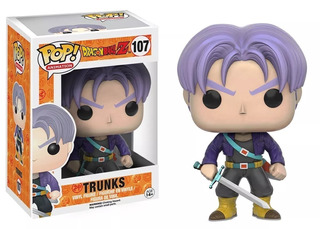 Funko Pop Trunks #107 Dragon Ball Z Figura