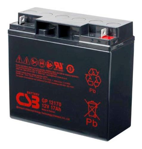 Imagen 1 de 4 de Bateria 12v 17ah Csb Gp12170 Ups Eaton Apc 1500 2200 3000