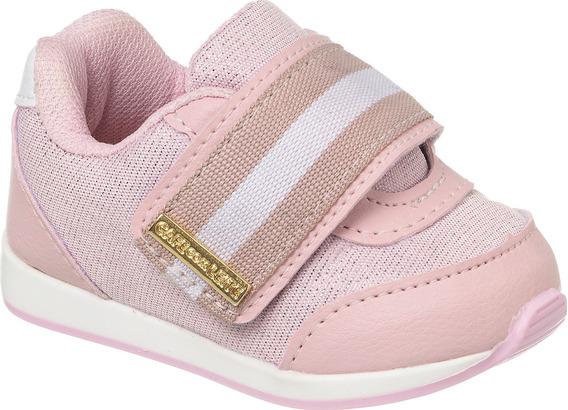 Tênis Rosa Infantil Menina Bebê 013.129 (1 Par)