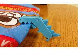 Clips T-rex Oficina O Sellar Bolsas Mantener Fresco. Colores