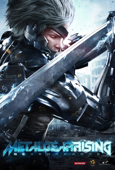 Metal Gear Rising Revengeance (mídia Física) Pc Frete Gratis