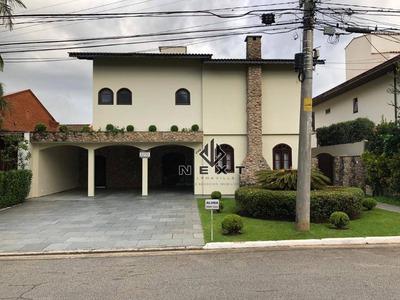 Casa Com 4 Suites Para Locação, 475 M² No Alphaville Residencial 2 - Alphaville -sp - Ca0325