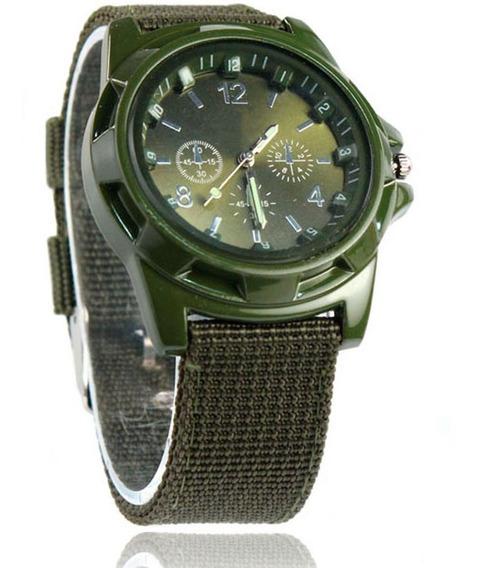 Reloj Analogo De Pulsera Tactico Militar Para Hombre H9034