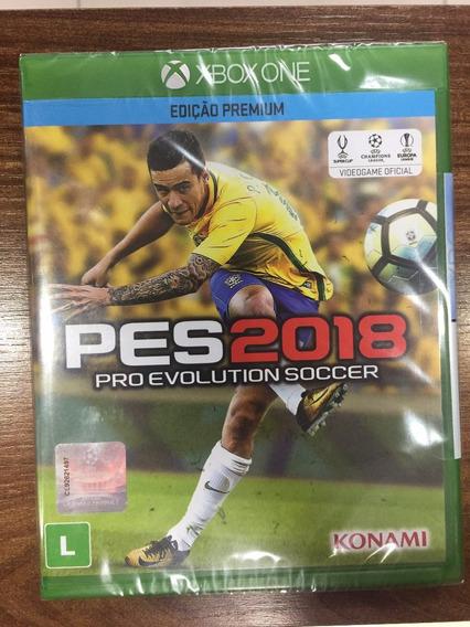 Pes 2018 Edição Premium Xbox One Mídia Física