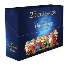 Box 25 Clássicos Disney Edição Especial De Luxo - Lacrado