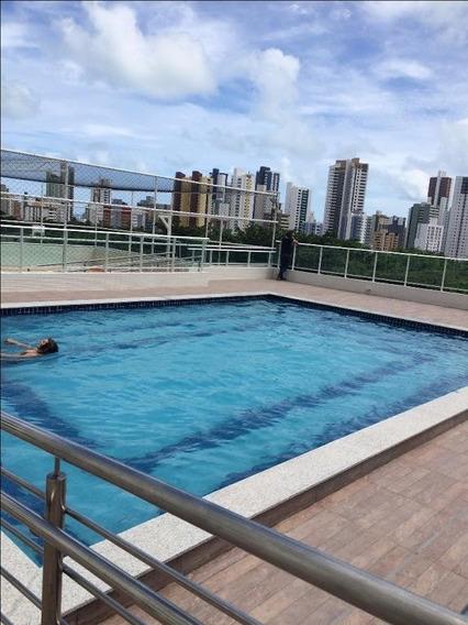 Apartamento Em Miramar, João Pessoa/pb De 102m² 3 Quartos À Venda Por R$ 550.000,00 - Ap300841