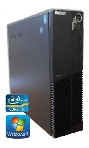 10 Desktop Lenovo Core I5 4gb Ssd120 + Monitor 19 +acessorio