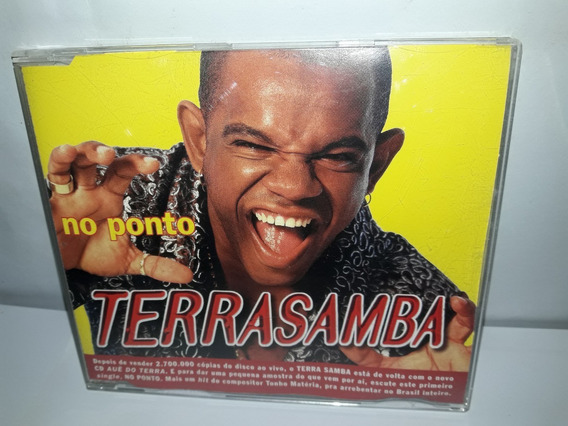 Cd Single Terrasamba No Ponto 1999 Semi Novo