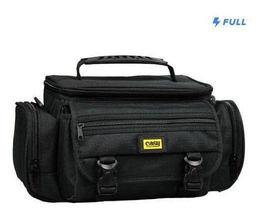 Bolsa Case Para Câmera Dslr Canon Nikon Sony C/ Alça - 8103