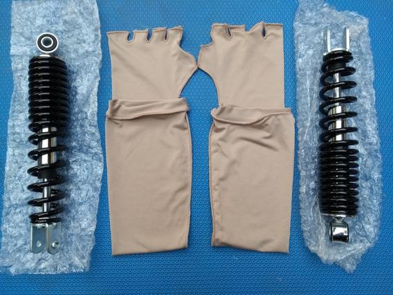 Par Amortecedor Traseiro Yamaha Neo 115 C/ Garantia + Brinde
