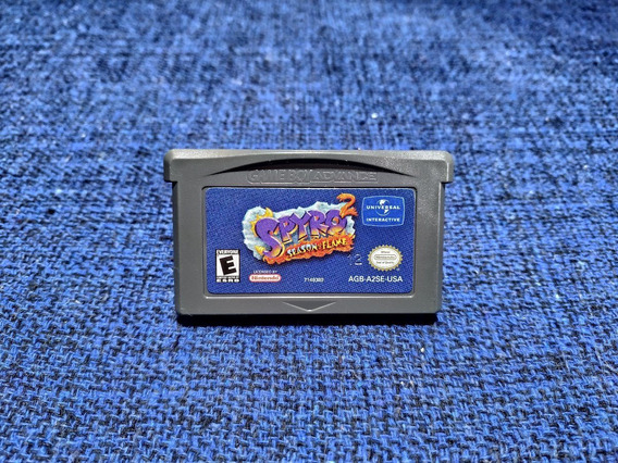 Spyro 2 Season Of Flame 100% Original Salvando Gameboy Gba