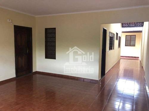 Casa Com 3 Dormitórios À Venda, 88 M² Por R$ 270.000 - Jardim José Sampaio Júnior - Ribeirão Preto/sp - Ca1650