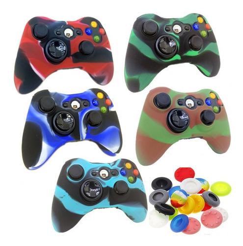 Siliconas Protector Control Xbox 360 Gratis Grips Antigolpe