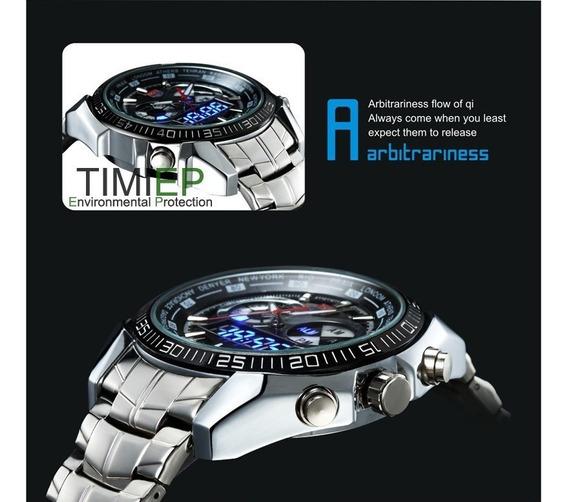 Relógio Tvg Seals Elite De Luxo Led Original Oferta Limitada