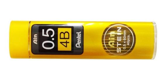 Pentel Grafite Ain Stein 0,5mm 4b
