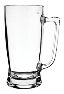 Chopp Vaso Jarro Cerveza Vidrio Nadir Taberna - 340ml X6 Un.