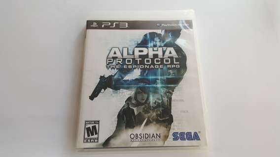 Alpha Protocol The Espionage Rpg - Ps3 - Original Usado