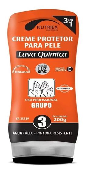 Creme Protetor Luva Química Grupo 3 200g Nutriex