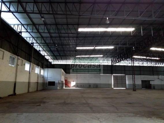 Galpão Para Alugar, 6110 M² Por R$ 60.000/mês - Distrito Industrial I - Manaus/am - Ga0047