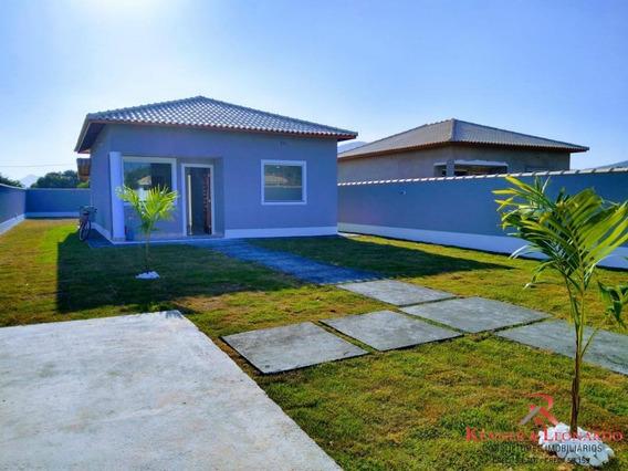 Casa Em Itaipuaçu Com 2 Quartos E Terreno Com 480 M² - 497