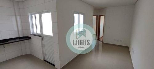 Imagem 1 de 16 de Apartamento Com 2 Dormitórios À Venda, 39 M² Por R$ 235.000,00 - Vila Vitória - Santo André/sp - Ap1749