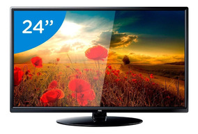 Tv Aoc 24 Le24m1475 Led Hd Usb 2 Hdmi Vga Conversor Digital