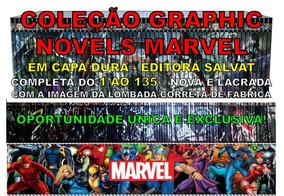Graphic Novels Marvel Salvat Coleção Completa 1 Ao 135 Nova