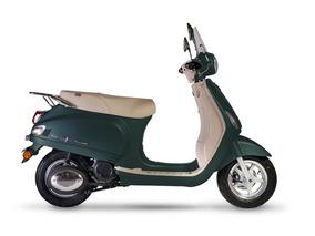 Corven Expert 150 Milano Scooter 0km Retro Verde 999 Motos