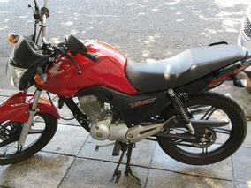Moto Honda Cg Newtitan 150 Impecable Oferta Casco Trabadisco