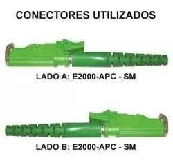 Kit 5 Unidades Cordão De Fibra Optica E2000/apc E2000/apc 10m E 15 M Promoção