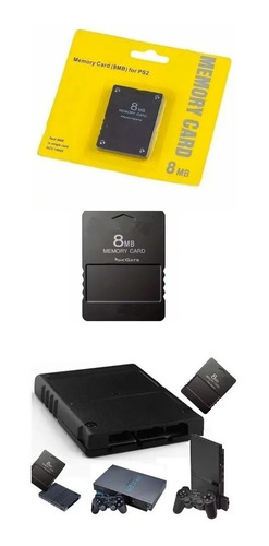 Memory Card Sony 8mb Memoria Ps2 Play Station 2 Garantizada