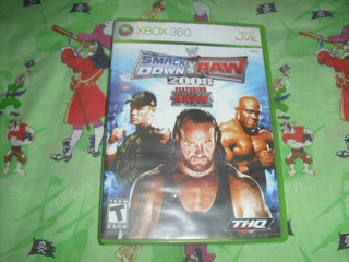 Smack Down Vs Raw 2008 Para Xbox 360