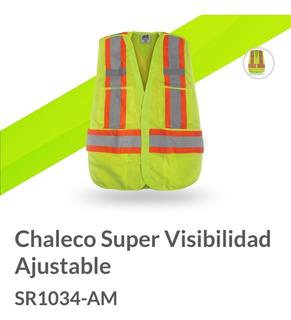 Chaleco Super Visibilidad Ajustable Mr