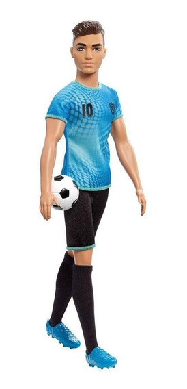 Barbie Ken Profissões Jogador De Futebol - Mattel