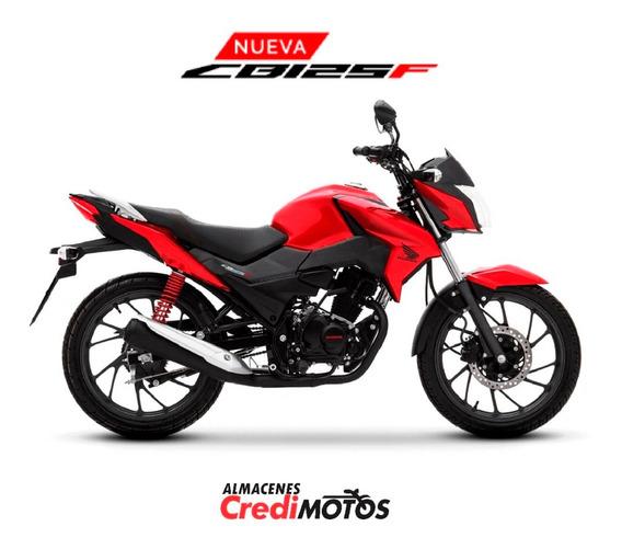 Honda Cb 125 F / Contado / Crédito Rápido / 0 Kms