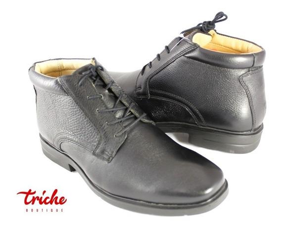 Botín Caballero Negro Flexi 91503 Clásico Confort Agujeta