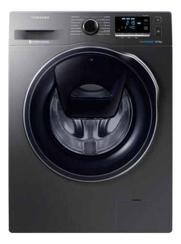 Imagen 1 de 4 de Lavarropas automático Samsung WW10K6410Q inverter negro 10.5kg 220V