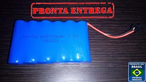 Bateria Para Carrinho 7.2v Aa 2100mah Com Conector Smp02