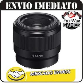 Lente Sony Fe 50mm F/1.8 E-mount Sel50f18f + Nfe