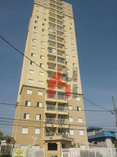 Apartamento À Venda, 55 M² Por R$ 500.000,00 - Vila Moinho Velho - São Paulo/sp - Ap0192