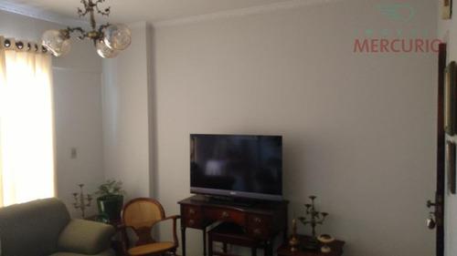 Apartamento Com 3 Dormitórios À Venda, 115 M² Por R$ 310.000,00 - Centro - Bauru/sp - Ap2396