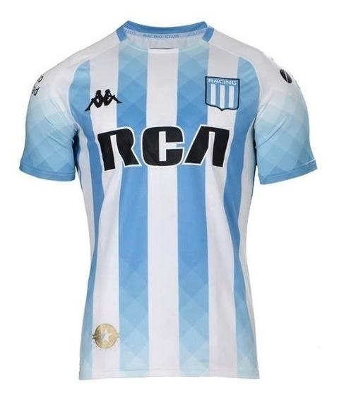 Camiseta Racing Kappa Titular Regular 2019 Original
