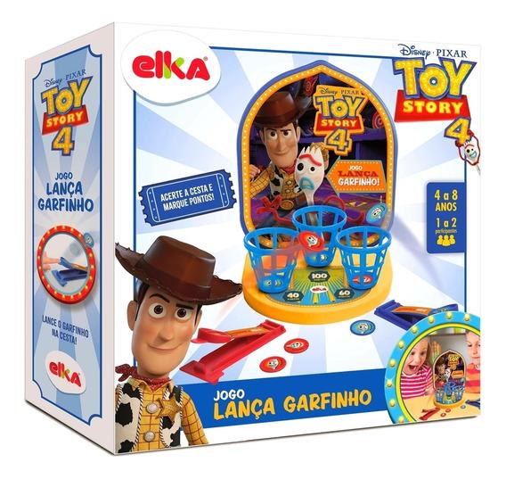 Jogo Divertido Para Criança Lança Garfinho Toy Story 4