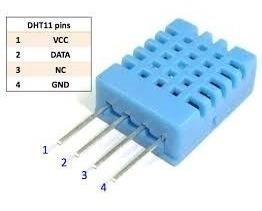 Arduino Sensor De Temperatura E Umidade Dht11