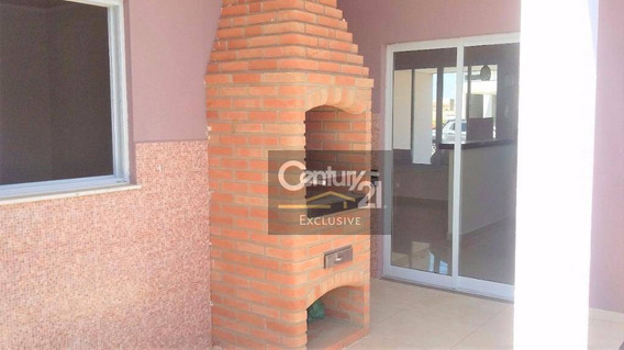 Casa Residencial À Venda, Jardim Park Real, Indaiatuba. - Ca0197