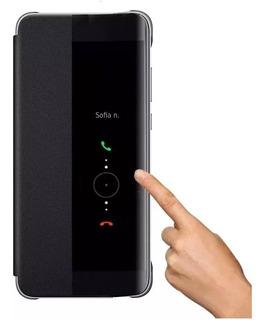 Smart Flip Cover Huawei P30 Pro Funda Case Sensor