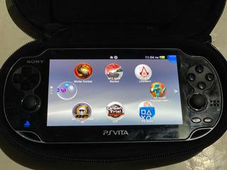 Ps Vita Usado Tres Juegos Fisicos