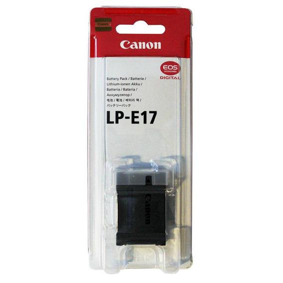 Bateria Canon Lp-e17 Original Nova Garantia Canon Brasil Nf