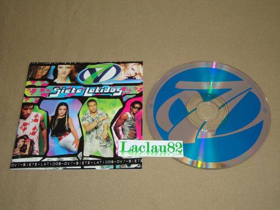 Ov7 Siete Latidos 2001 Epic Cd La Onda Vaselina